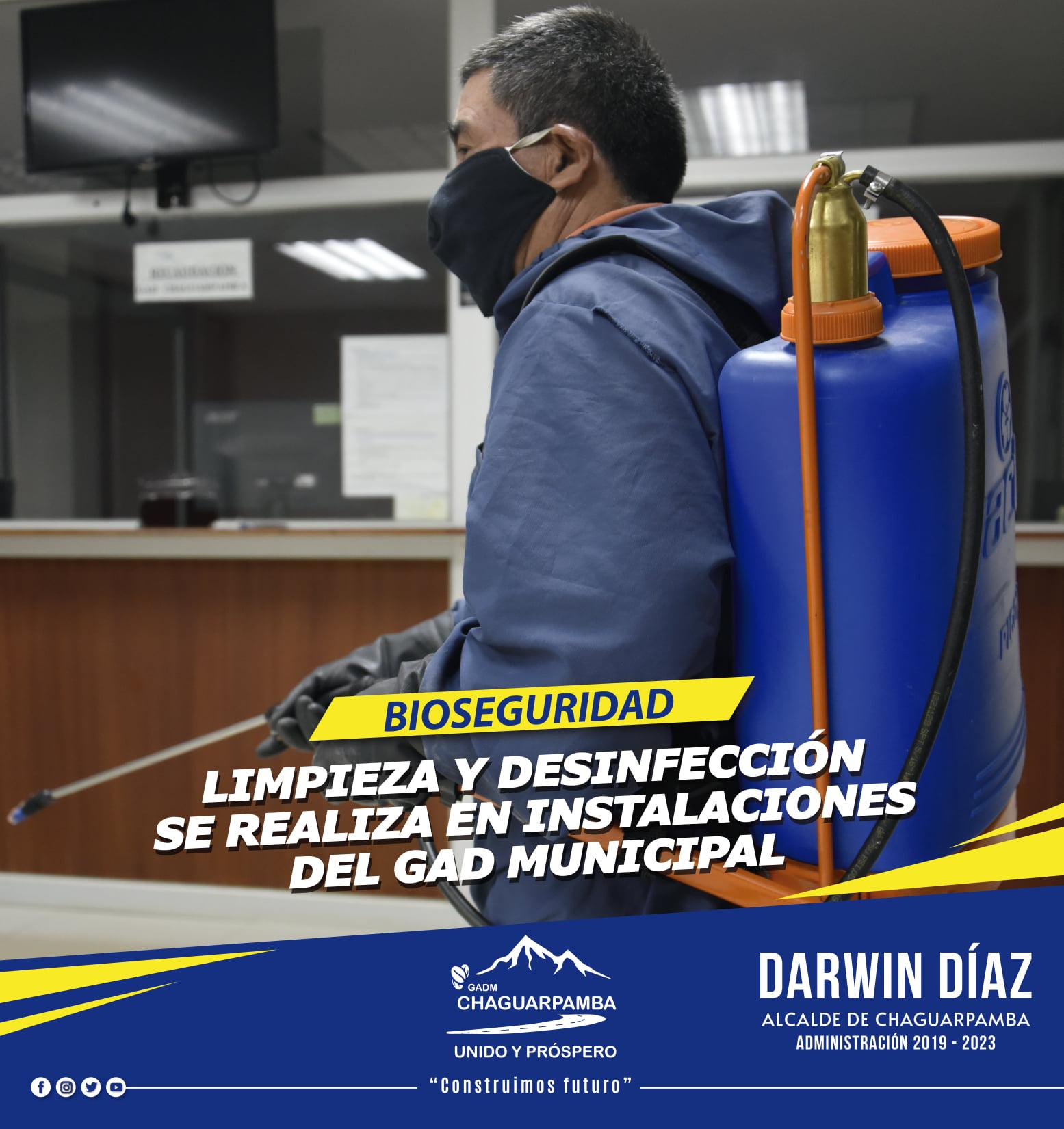 LIMPIEZA Y DESINFECCIÓN CONTRA...
