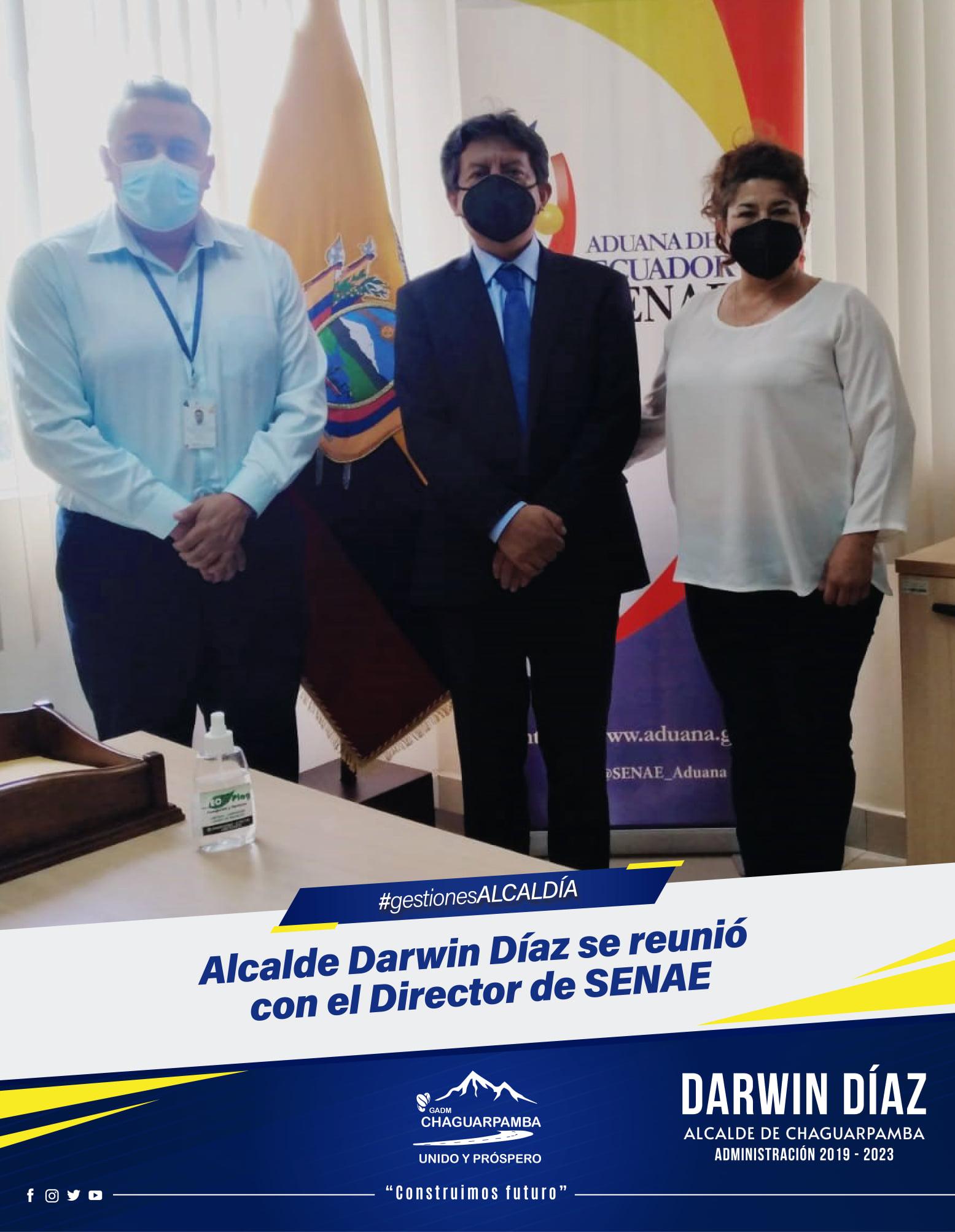 Alcalde Darwin Díaz se reunió con...
