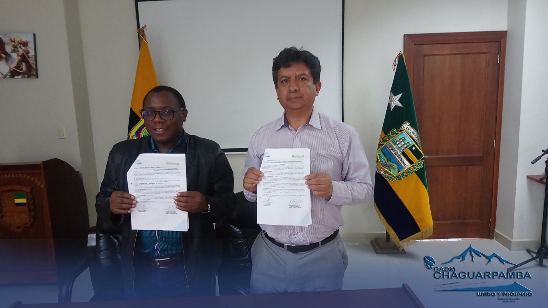 Fundación Humana y GAD Municipal...